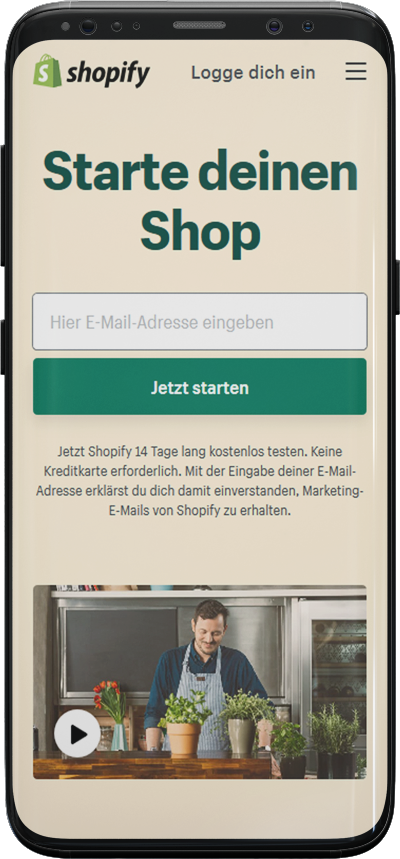 Shopify Agentur Stuttgart